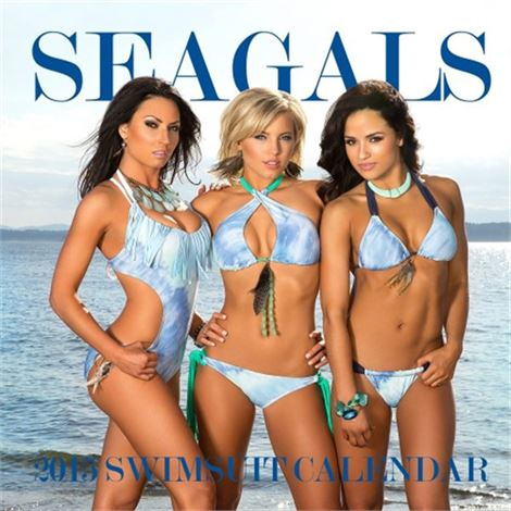 Personalized 2014-15 Sea Gals Calendar