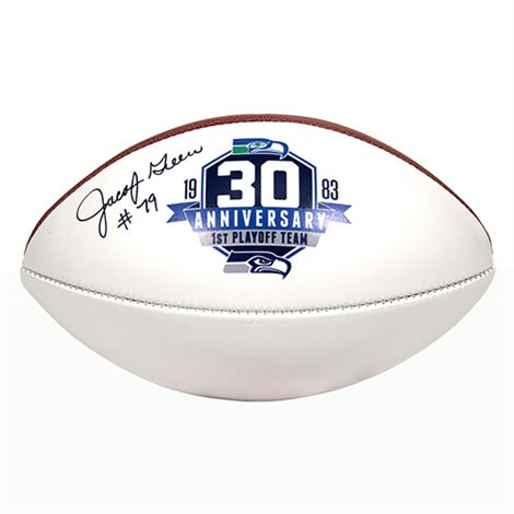 30th Anniversary Football Autographed by Jacob Green