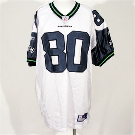 Seattle Seahawks | Auction - Autographed Jerry Rice #80 Jersey ...