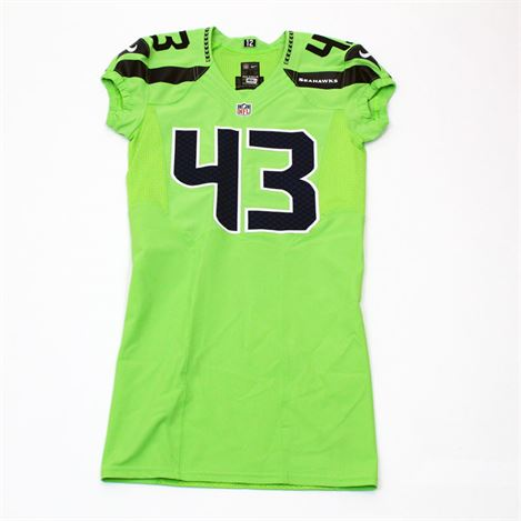 Team-Issued Troymaine Pope #43 Color Rush Jersey - SA05368